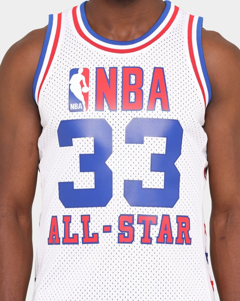 Mitchell & Ness Men's 1985 #33 Larry Bird NBA All Star Game Swingman Home Jersey White