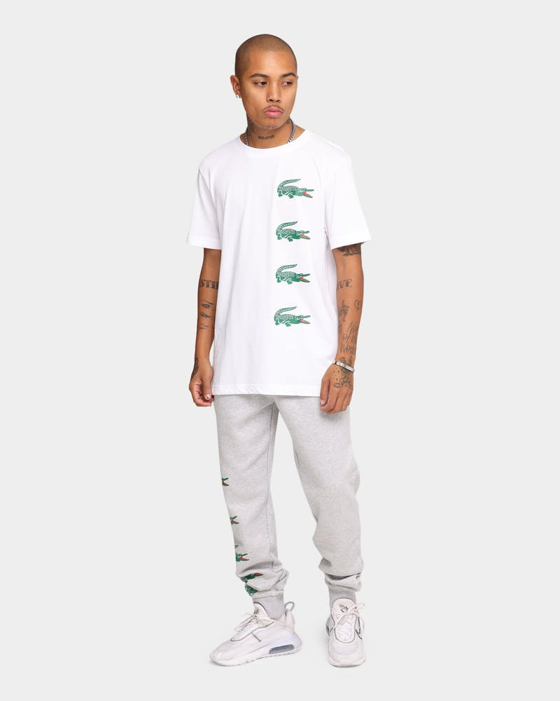 Lacoste Lifestyle Multi Croc T-Shirt White