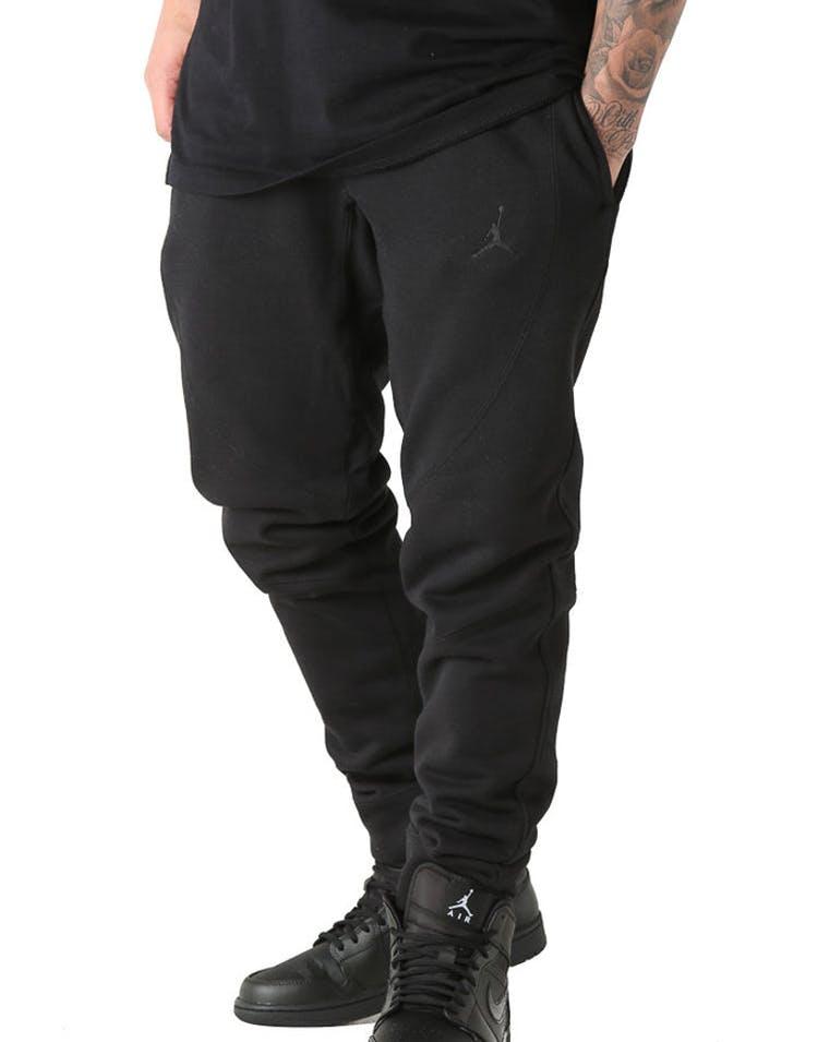 eba0d641d2f2e3 Jordan Wings Fleece Pants Black Black – Culture Kings