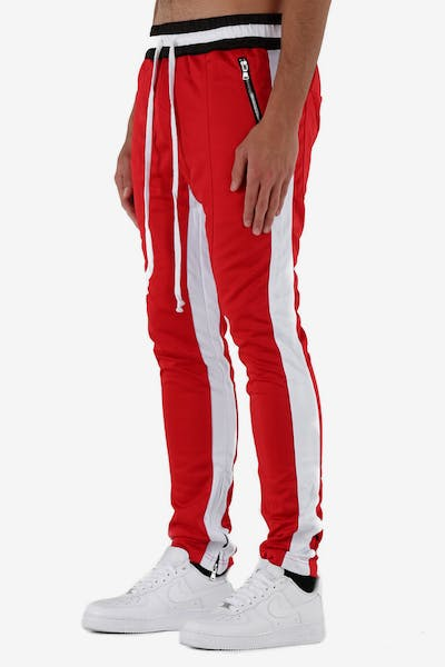 Lifted Anchors Jenner Trackpant Red/White