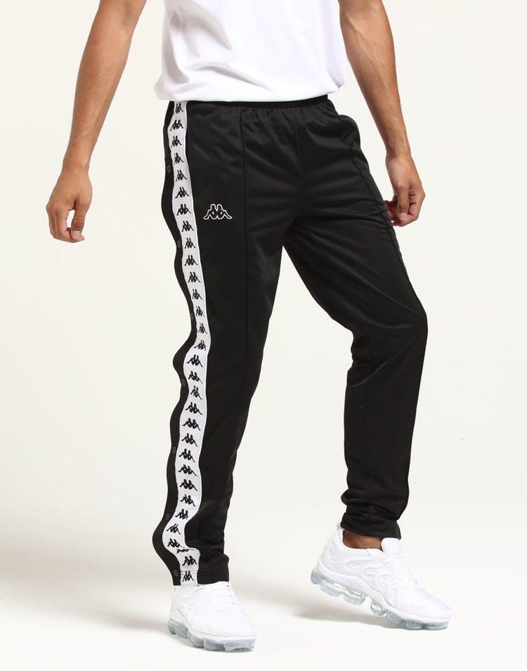 d0c4ecf1ca72 Kappa 222 Banda Astoria Slim Pant Black Striped Track Pant Stripe ...