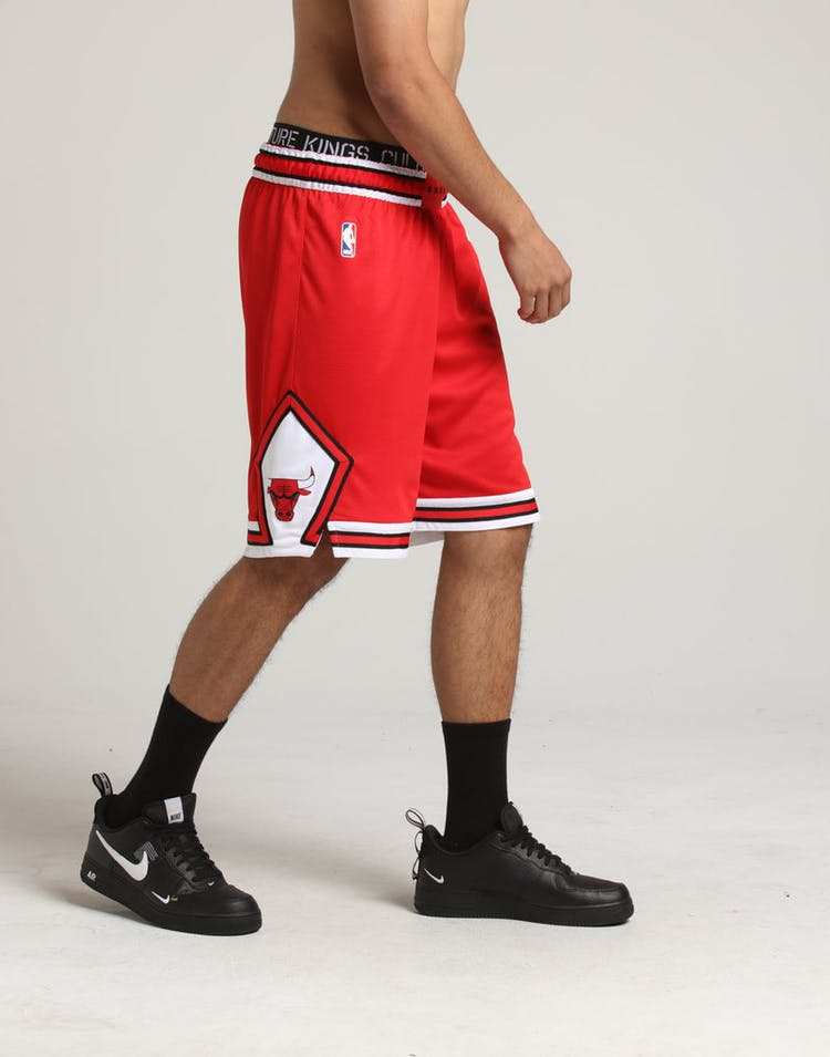 fe7cf7c400d Chicago Bulls Nike Icon Edition Swingman Shorts Red/White – Culture ...