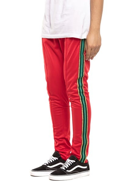 Serenede Casual Royalty Track Pant Red