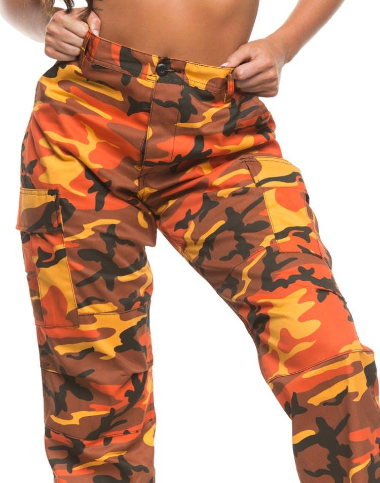 d6c4ad5bbca34 Rothco Women's Tactical BDU Pant Orange Camo – Culture Kings