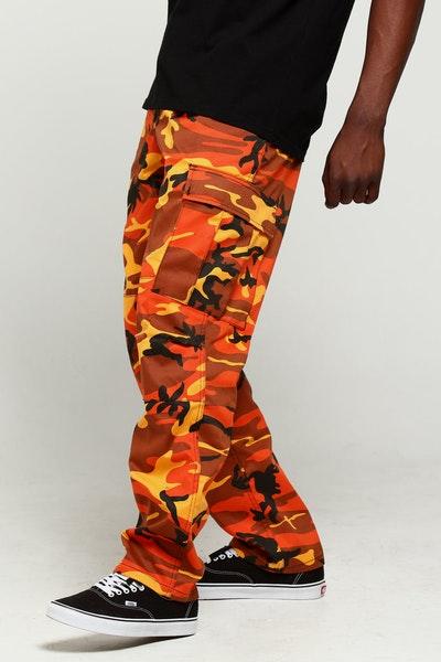 Rothco Tactical BDU Pant Orange Camo dbc7481209e