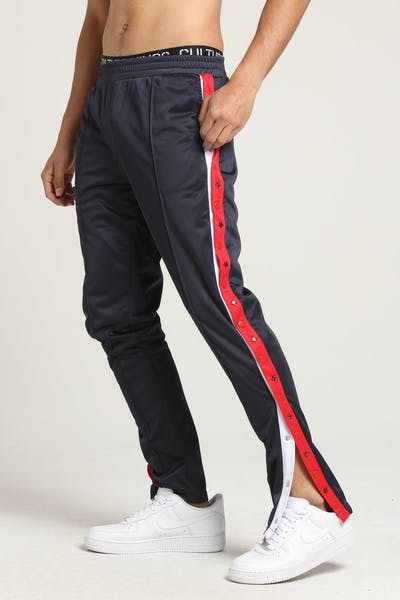 Serenede Una Vida Snap Track Pants Navy/Red