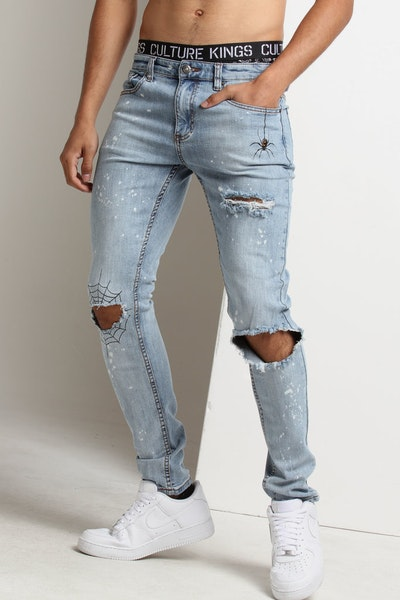 Serenede Abyss Thoughts Jeans Blue Wash