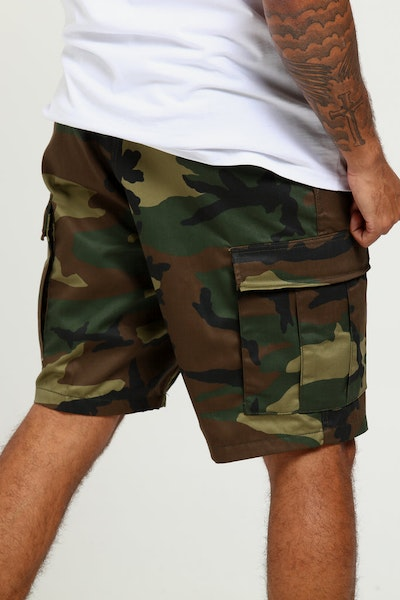 Rothco Tactical BDU Short Woodland Camo
