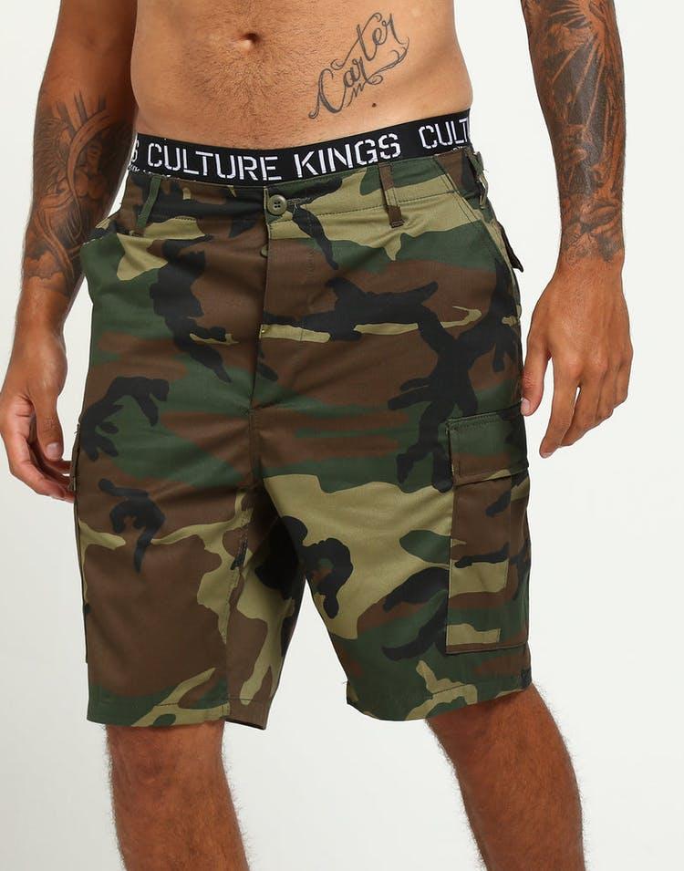 f59b6eabd6e45 Rothco Tactical BDU Short Woodland Camo – Culture Kings