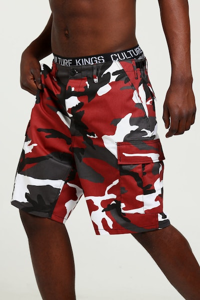 Rothco Tactical BDU Short Red Camo