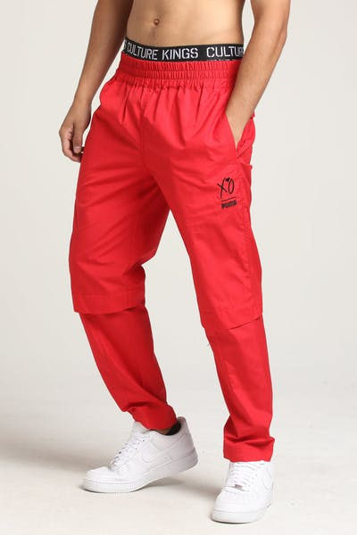 c077114f611b Puma X The Weeknd XO Woven Pant Red