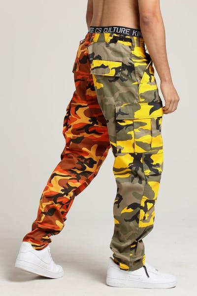 253c2320be3 Rothco 2 Tone Camo BDU Pants Stinger Yellow Camo