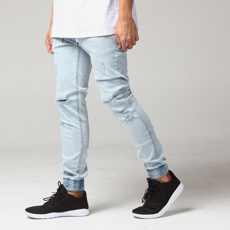 Saint Morta Bleeding Knees Jogger Light Blue
