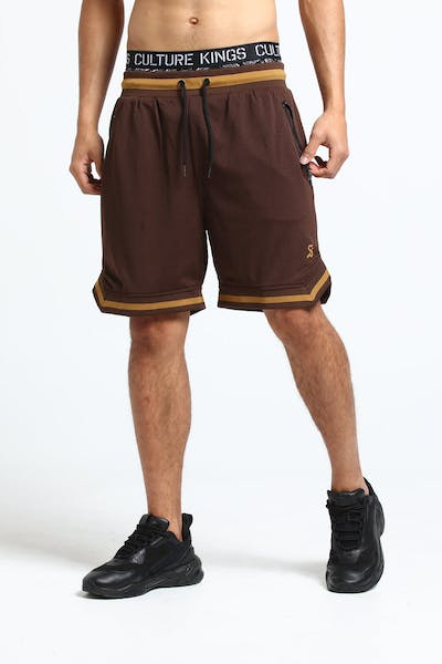 Saint Morta Veratas Mesh Short Brown/Beige