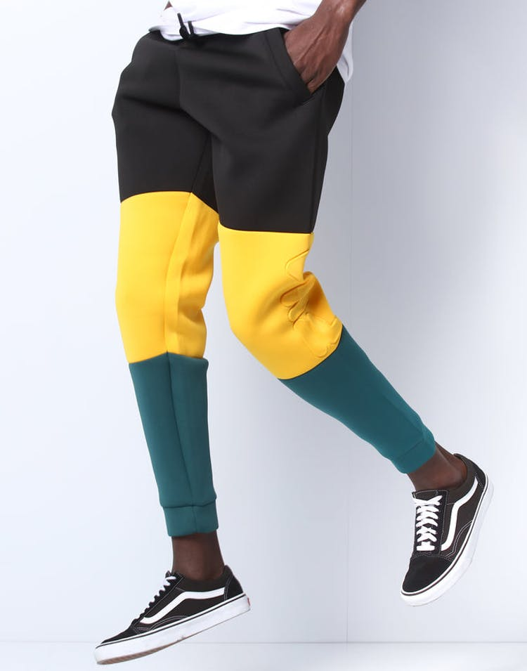 bc1ae5702adc Fila Cosmo Scuba Embossed Pant Black/Green/Yellow – Culture Kings
