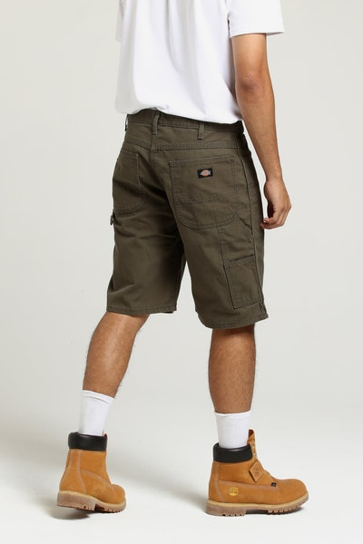 Dickies DX250 Short Rinsed Moss Green
