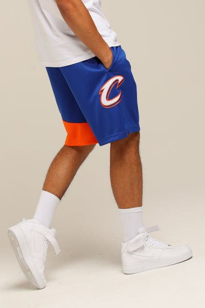 d05f3686126c Nike Cleveland Cavaliers City Edition Swingman NBA Short  18 Blue White