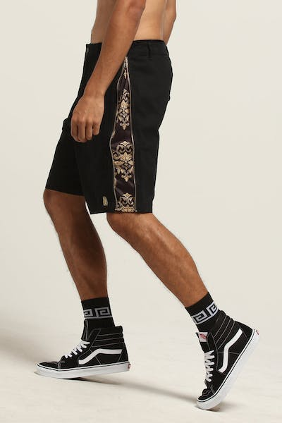 Last Kings Hidden Royalty Shorts Black/Gold