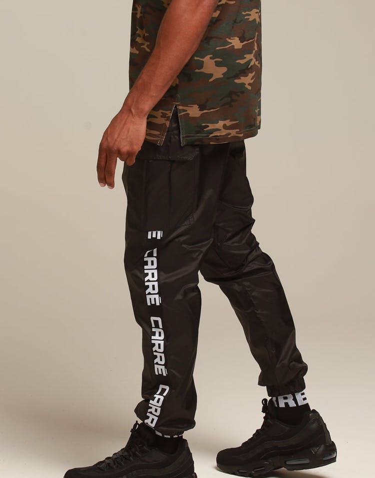 2c1a2a174 Carré Marked Cargo Trackpant Black – Culture Kings