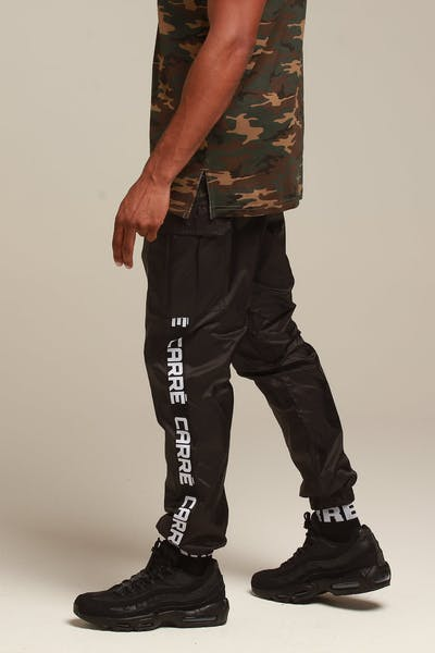 Carré Marked Cargo Trackpant Black