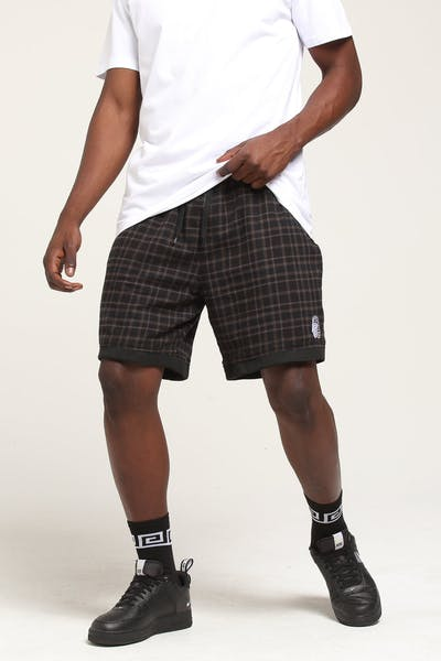 Last Kings Midnight Short Black Tartan