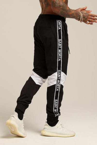 Saint Morta Methods Trackpant Black/White