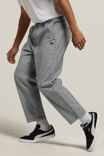 Stussy Worker Street Pant Black Stripe
