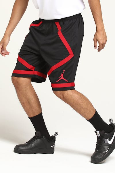 Jordan Dri-Fit Taped Short Black/Red