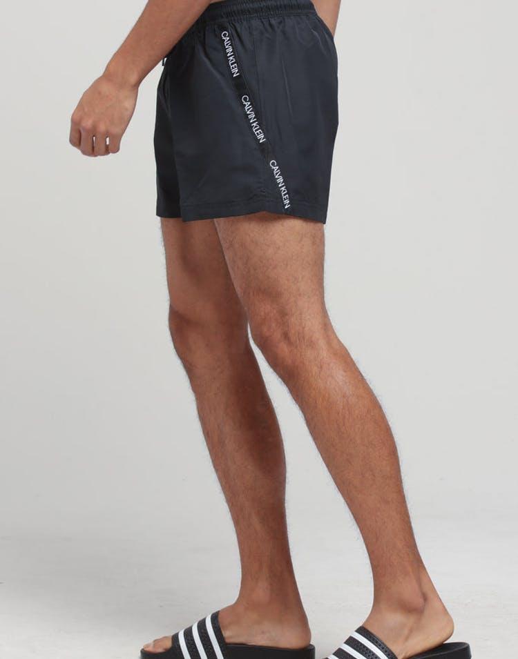 online store e8c69 22586 Calvin Klein CK Logo-S Short Drawstring Black