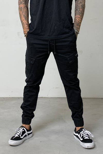 District Goods Combat Jogger Black