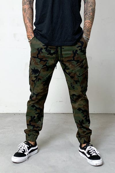 District Goods Combat Jogger Camo