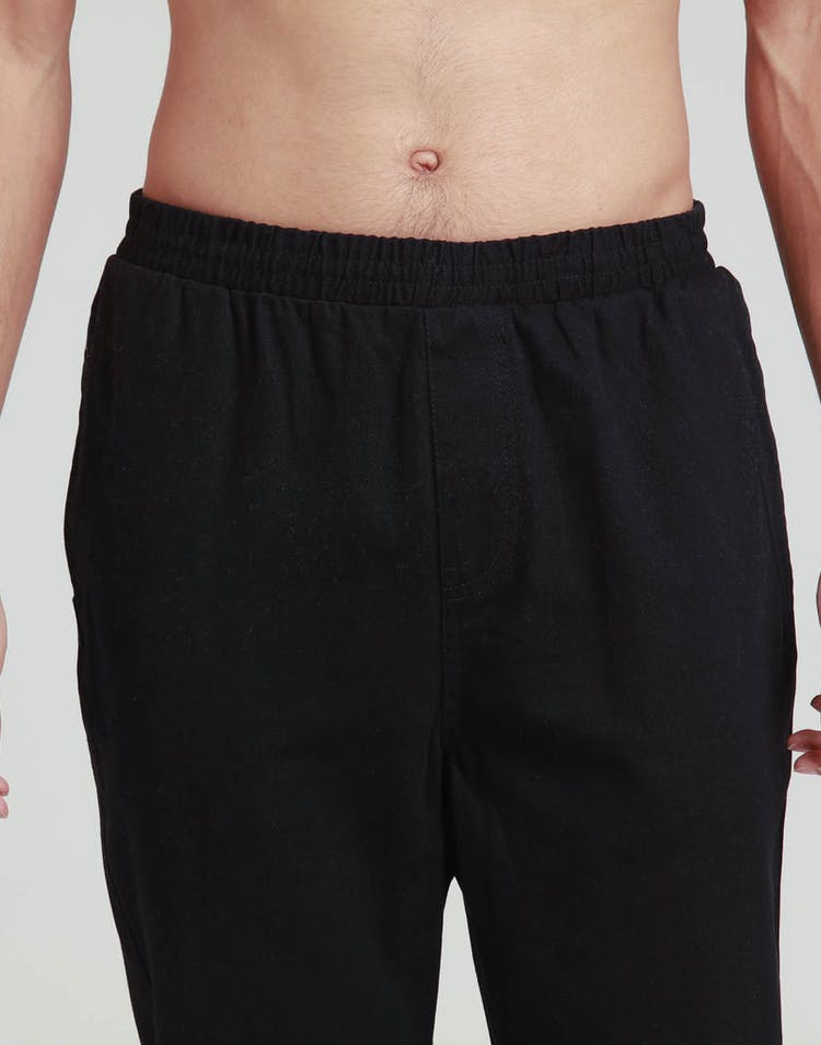 Stussy Peaches Twill Beachpant Black