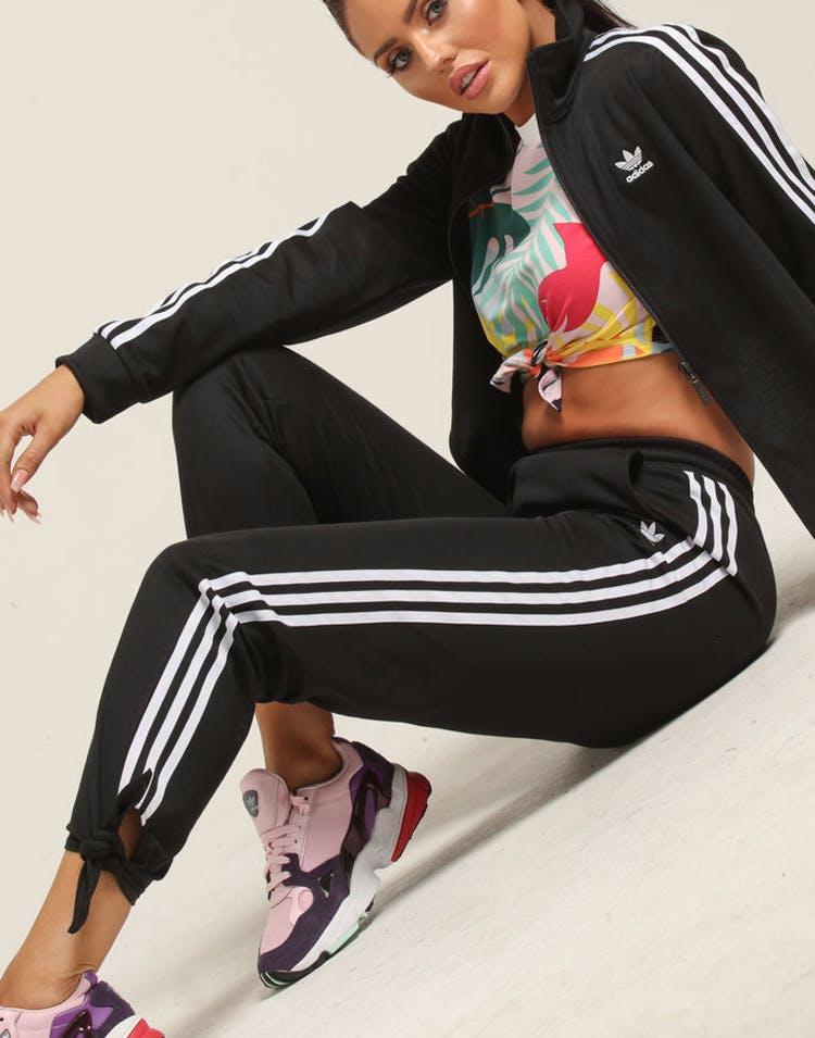 c9be18bc911 Adidas Women's Floral Tracksuit Pants Black – Culture Kings