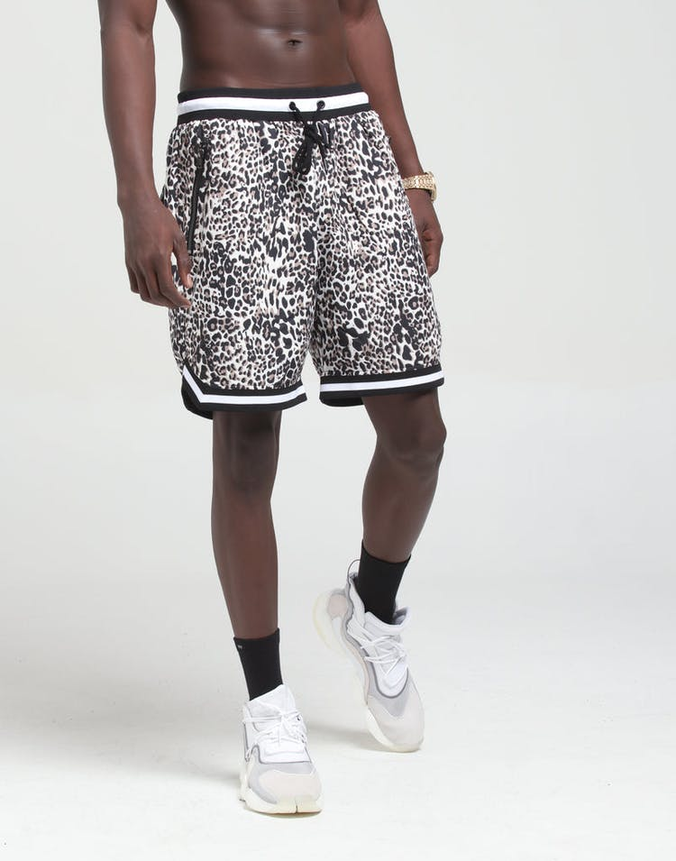 Saint Morta Leopard Basketball Shorts Leopard