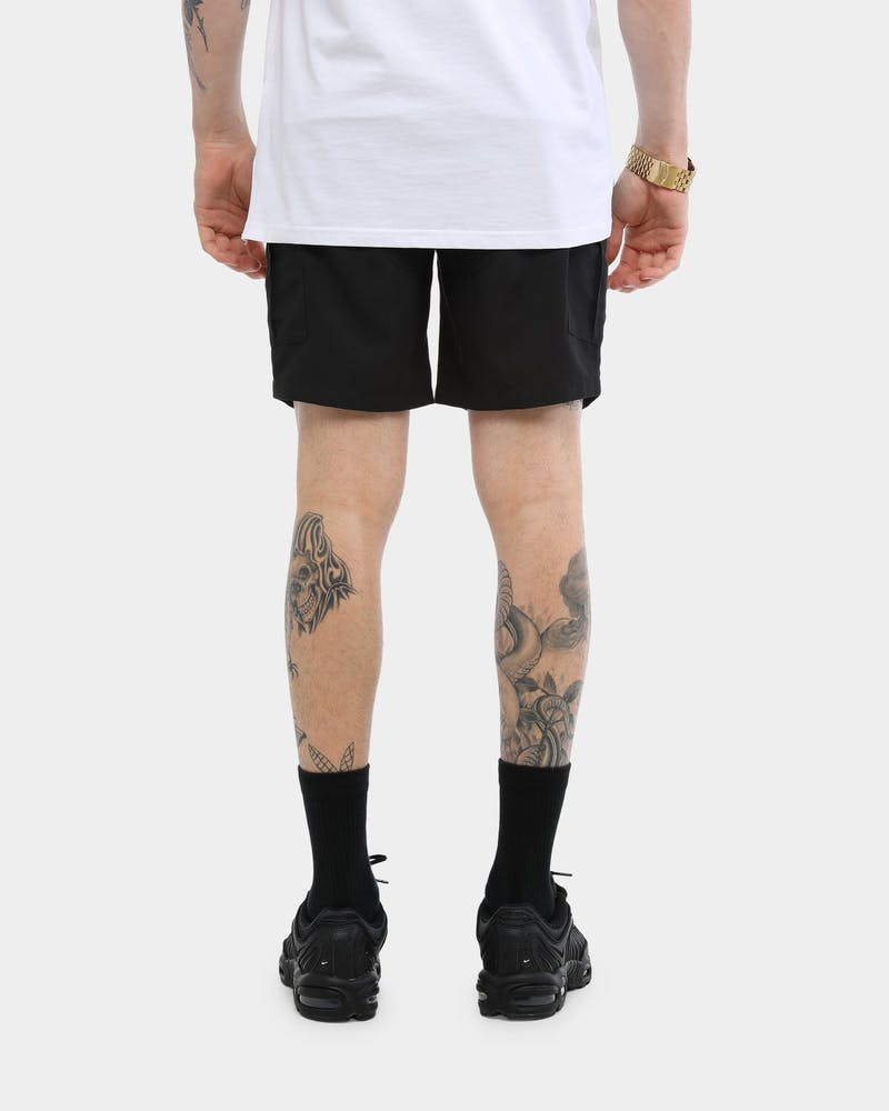 Carré Rev 001 Cargo Shorts Black
