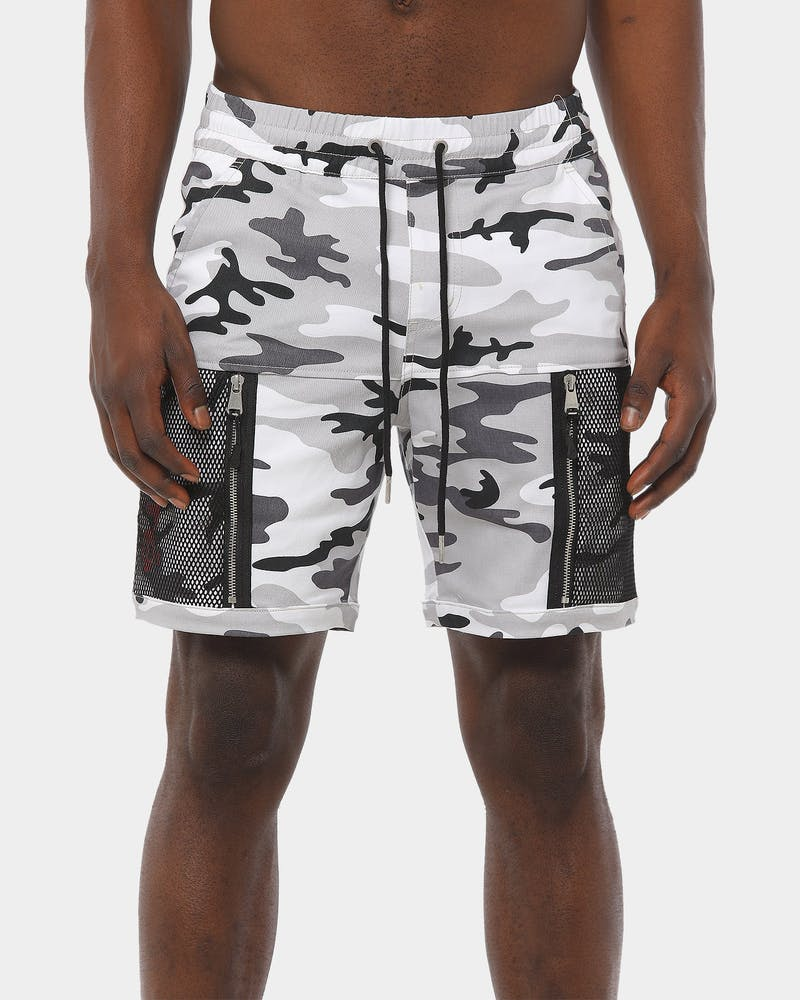 Carré Cadrer Shorts Snow Camo