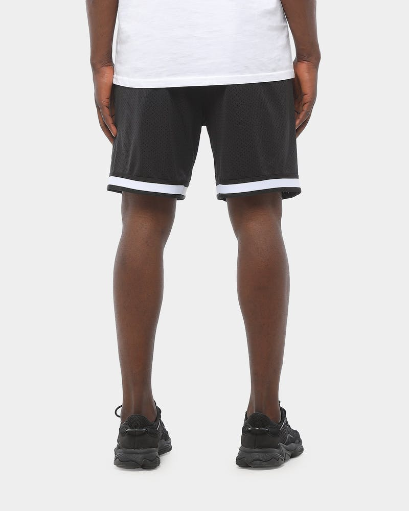 Majestic Athletic Raiders Dotel Mesh Short Black