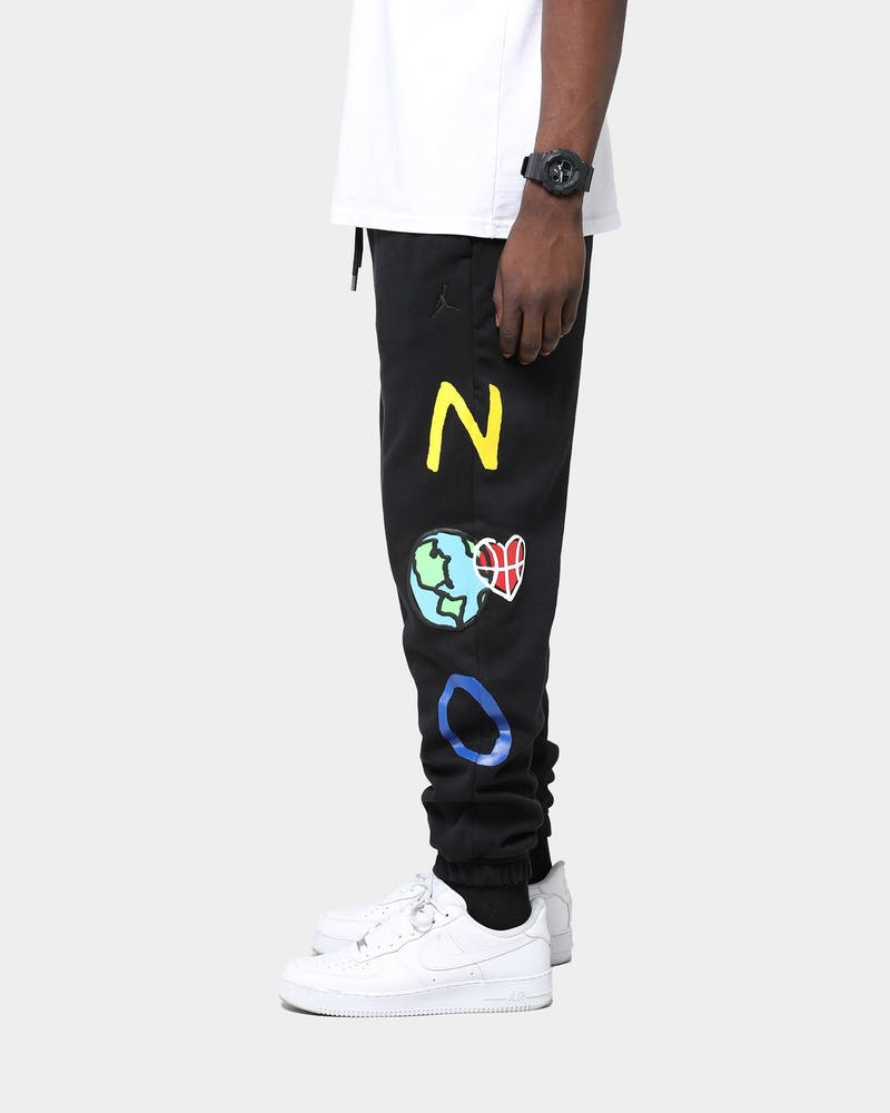 Jordan Russell Westbrook X Jordan Why Not? Fleece Pants Black