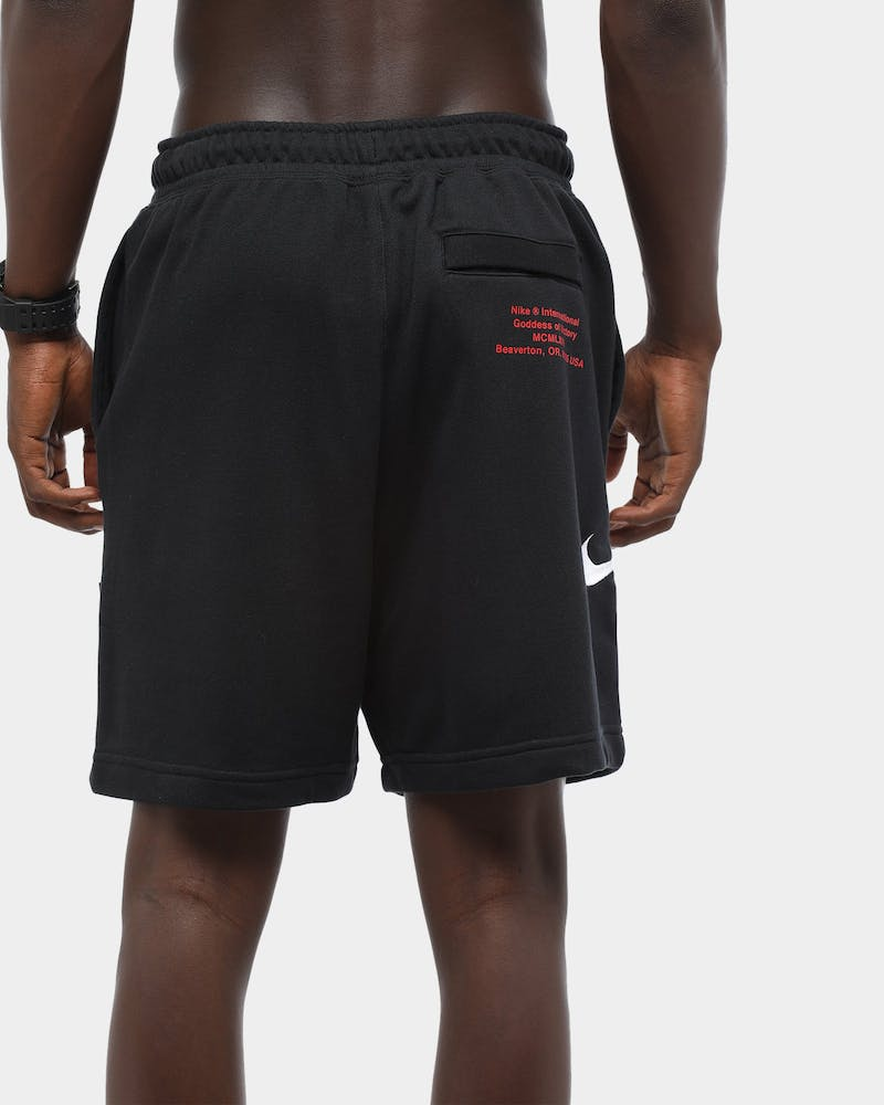 Nike Men's NSW Swoosh Short Black/White