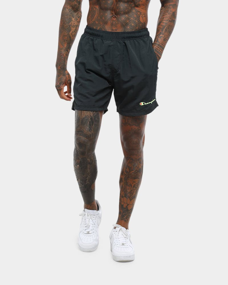 CHAMPION CRINKLE NYLON SHORT BLACK