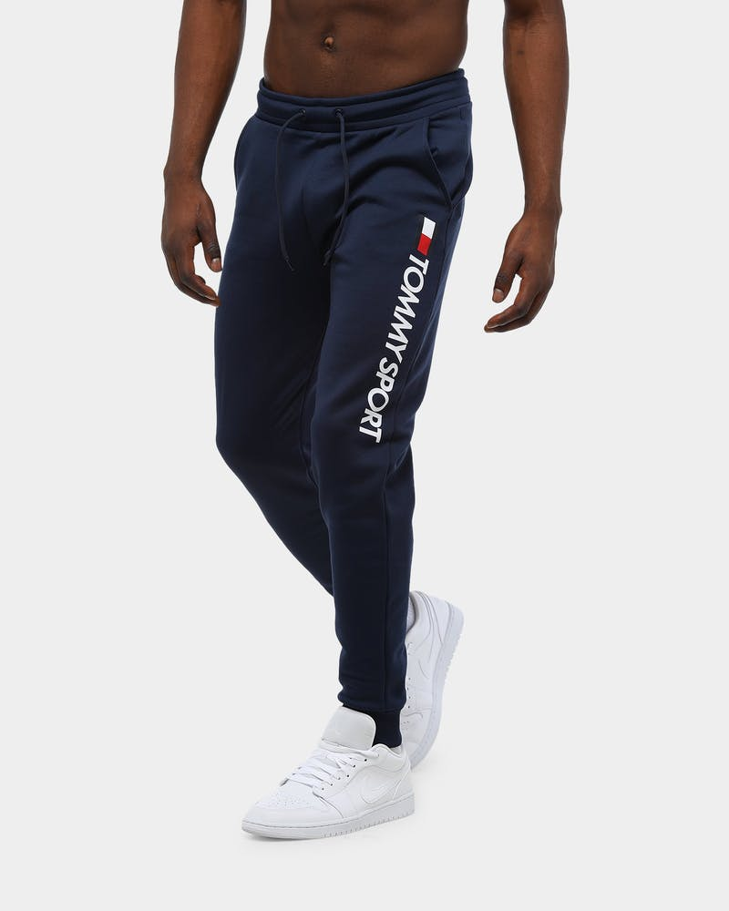 Tommy Jeans Men's Fleece HRB Logo Jogger Navy