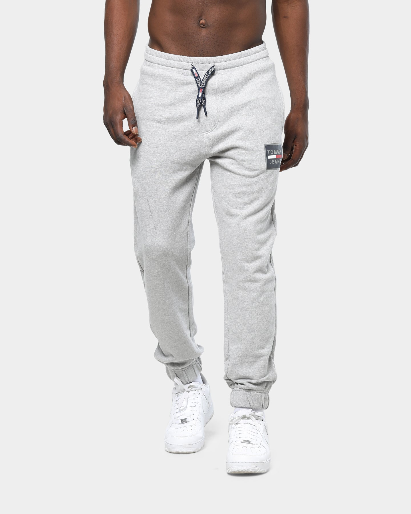 Tommy Jeans TJM Graphic Sweatpant Grey Heather