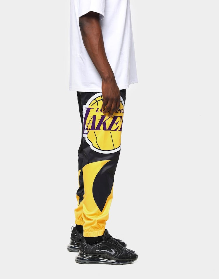 Black Pyramid Men's Los Angeles Lakers Logo Pant Yellow
