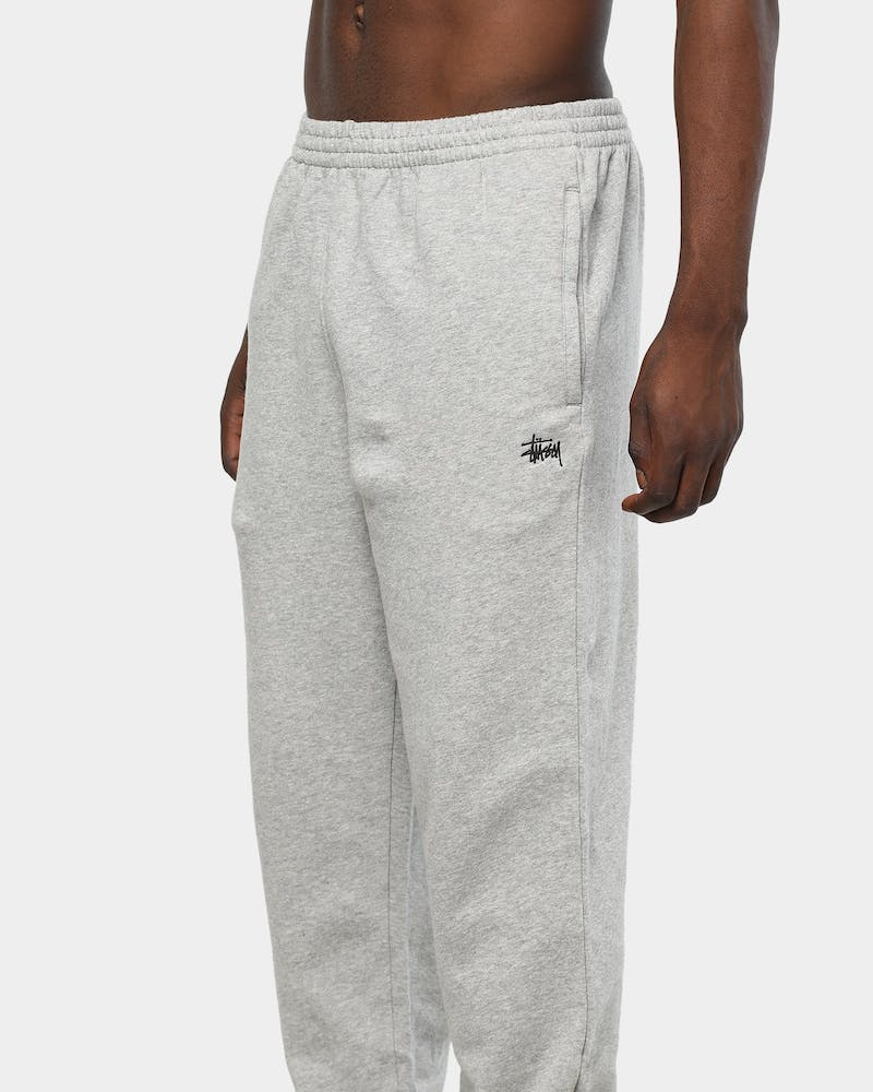Stussy Men's Graffiti Trackpant Grey Marle