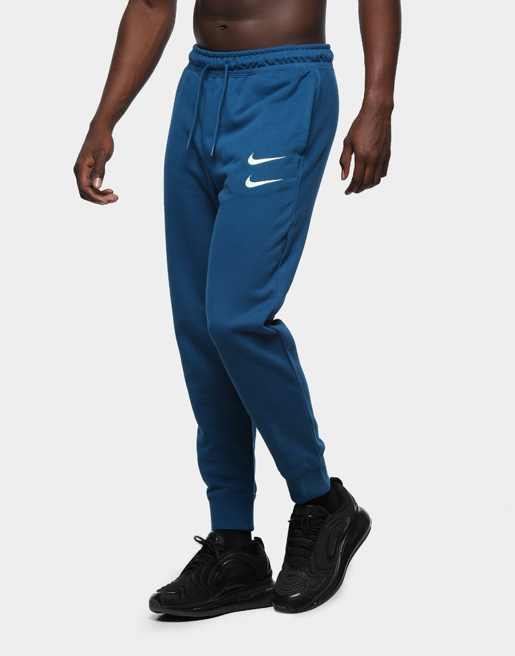 Nike Men's Nike Sportswear NSW Swoosh Fleece Track Pant Blue Force/Bare