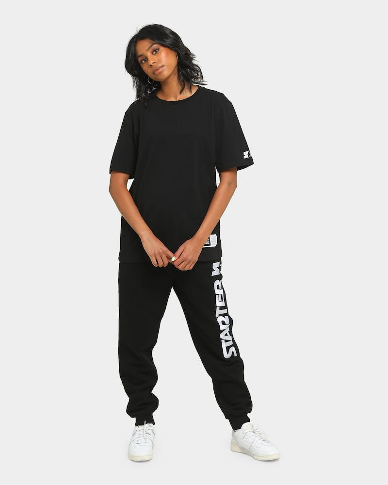Starter Foundation Track Pant Black/White