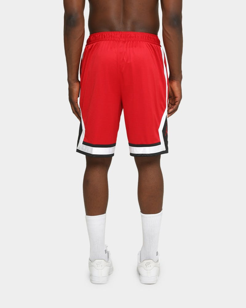 Jordan Men's Jumpman Diamond Basketball Short Gym Red/Black/White