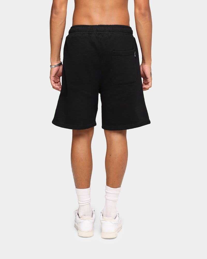 Stussy C Crown Fleece Shorts Pigment Black