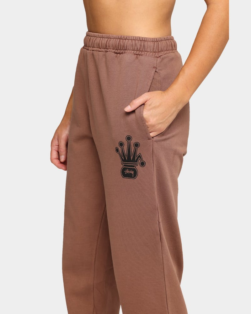 Stussy Universal Crowned Trackpant Pigment Chocolate