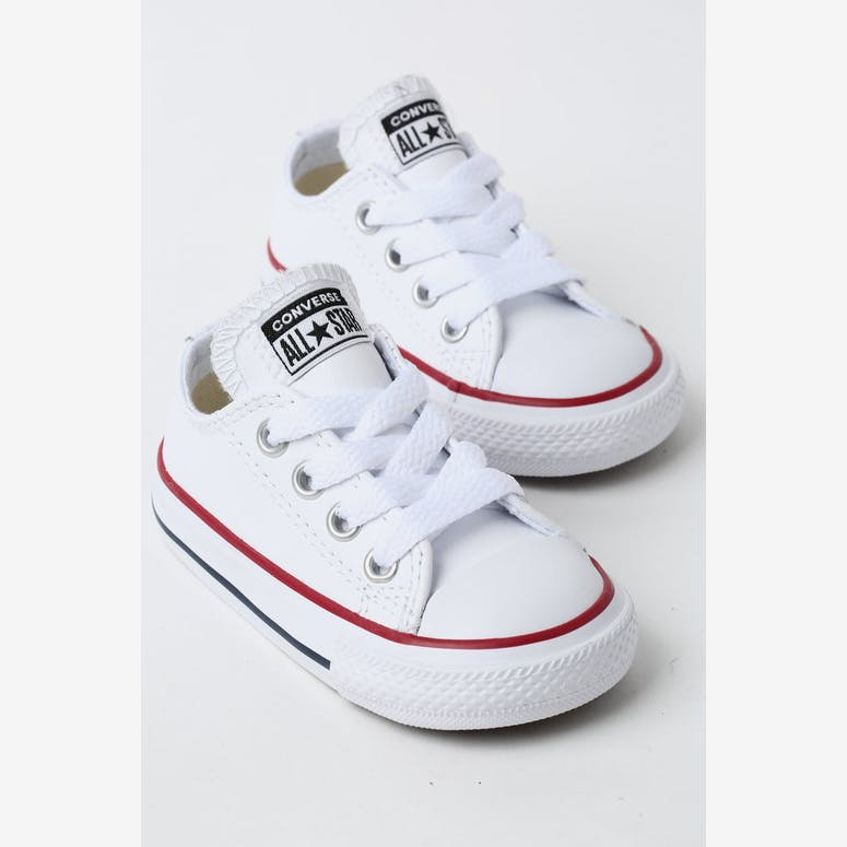 Converse Infant Chuck Taylor All Star OX White Red Navy  63c0f787b